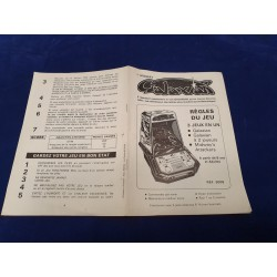 Coleco Galaxian instruction manual guide n° 76879A