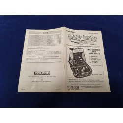 Coleco Pacman manual guide n° 91758A