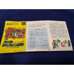 Nintendo - Super Mario World Instruction manual - Super Famicom NTSC J