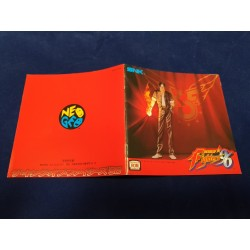 Snk Neo Geo King of Fighters 96 Aes manual Jap