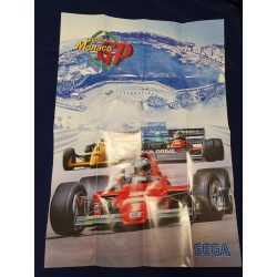 Sega MD - Monaco Rally Pamphlet eng