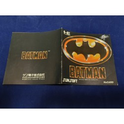 Nec - Batman Instruction Manual Jap