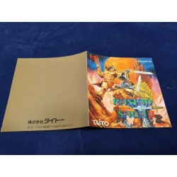 Nec - Rastan Saga II Instruction Manual Jap