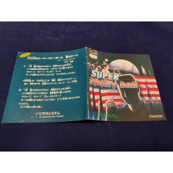 Nec - Super Volley Ball Instruction Manual Jap
