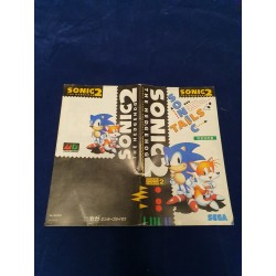 Sega -Sonic 2 Instruction Manual Jap MD
