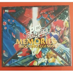 Pce Works - Memories Boxset: Shooting Legends - PC-Engine Repro