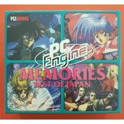 PCE Works - Memories Boxset: Best of Japan - PC-Engine Repro