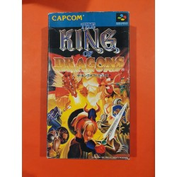Nintendo - The King Of Dragons - Super Famicom NTSC J