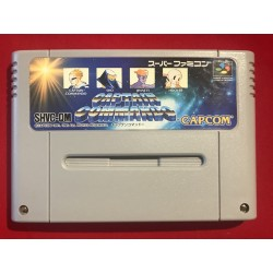 Nintendo - Captain Commando - Super Famicom NTSC J