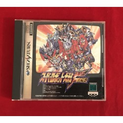 Sega Saturn Super Robot Wars NTSC J