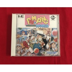 Nec Pc Engine Cd-Rom Pomping World Jap