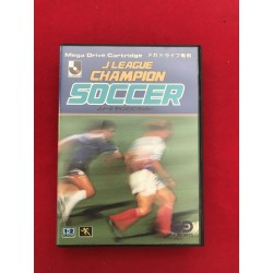 Sega Mega Drive J League Champion Soccer NTSC J