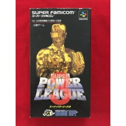 Nintendo Super Famicom Super Power League III NTSC J