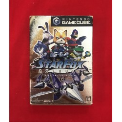 Nintendo Game Cube Starfox Assault Jap