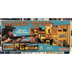 Coleco Target Town Electric Rifle Game