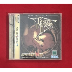 Sega Saturn Panzer Dragon 2 NTSC J