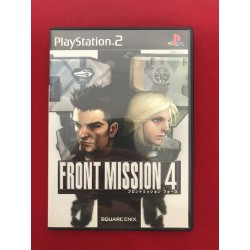 Sony Play Station 2 Front Mission 4 Jap