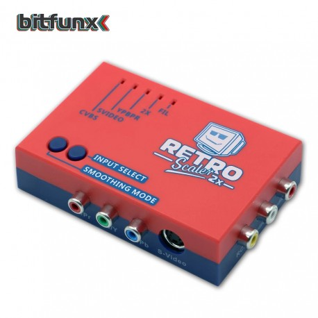 retroscaler 2x bitfunx rca to Hdmi scaler