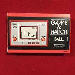 Nintendo club Game&Watch Ball japan version