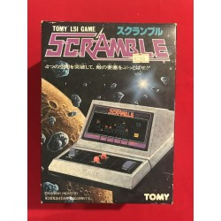 Tomy lsi game Scramble japan version