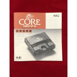 Nec Pc Engine Core Grafx Console manual (repro)