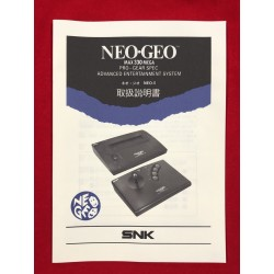 Snk Neo Geo Aes Console manual (repro)