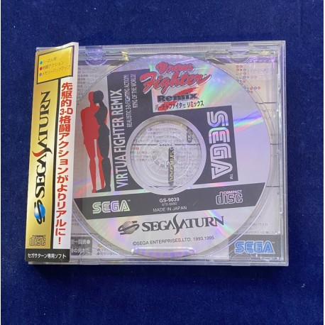 Sega Saturn Virtua Fighter Remix Jap