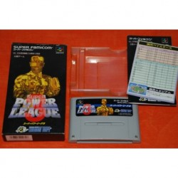 Super Power League III - Nintendo Super Famicom NTSC J