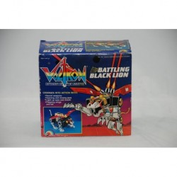 Voltron Battling Black Lion LJN