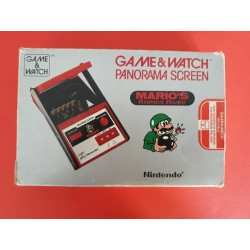 Mario's Bombs Away Game&Watch Panorama Screen Nintendo