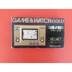 Nintendo Helmet Game&Watch gold series