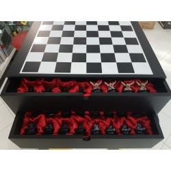 CHESS BOARD DEVILMAN CHATURANGA COLLECTION MOBY DICK TOYS